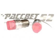 1157-6RED(12) Лампа светодиодная 12v 1157 (2конт) 6-smd RED СТРОБ