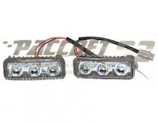 Дневные ходовые огни 3 LED DRL 2*3 smd 5730
