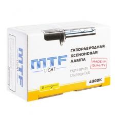 MTF Лампа ксеноновая Н4 4300 К МОНО