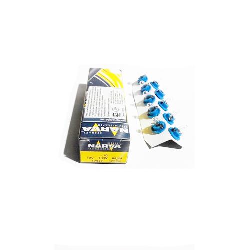 Автолампа 12V 1,2W BAX8.5d (голубой патрон) NARVA 17027