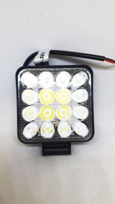 Дневные ходовые огни 48w (mini) ФCO со стробоскопом 2шт комплект