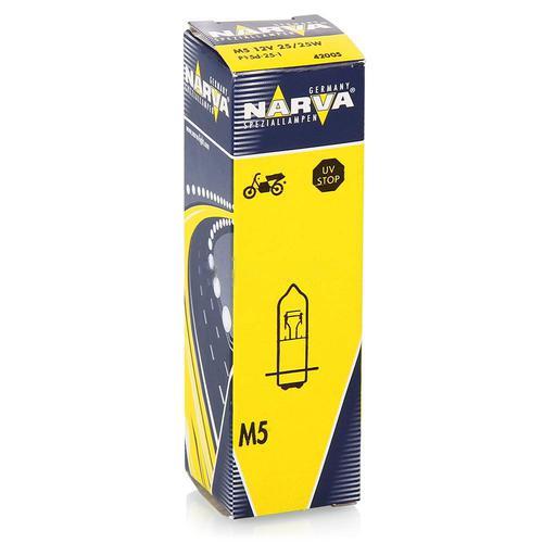 42005 Мотолампа M5 12V-25/25W (P15d-25-1)NARVA