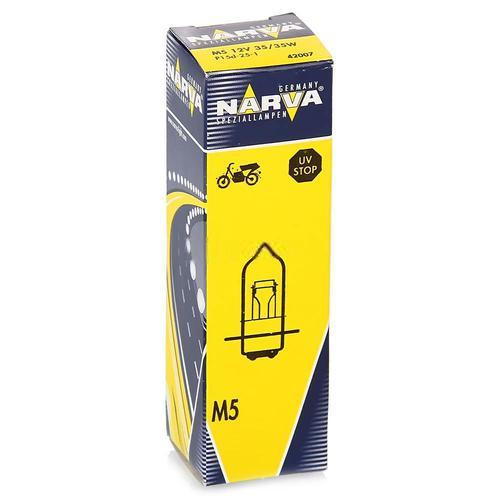 42007 Мотолампа M5 12V-35/35W (P15d-25-1)NARVA