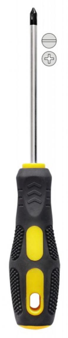 A5034 Отвертка пупыр со стрелками шлицевая
