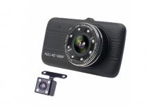 6080 Видеорегистратор Н-28, 2камеры, FHD (1080р) экран 3,9 G-сенсор