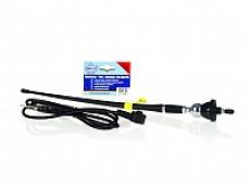 Антенна д/автомобиля гибкая, для УКВ/СВ диапаз., 40 см, водонепроницаемая Flex 12B ALCA