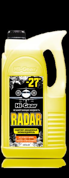 5688 HG Жидкость омывания стекол 4л Hi-Gear (незамерзайка, до -27, без метанола Radar)