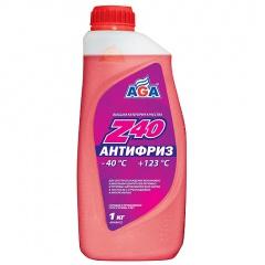 001 Антифриз, готовый к применению, красный, -40С 946мл АвтоХимПроект ANTIFREEZE AGA-Z40,