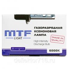 MTF Лампа ксеноновая НВ4 6000 К