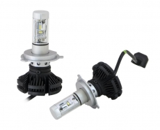Комплект светодиодных ламп SVS HB4 серии X3 (к-ты фильтра W/Y) (CSP-чип/6000Lm/5000K/9-32V/50W)