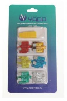 904063 Предохранитель MEDIUM W270-1 с индик.12шт в блистере(10А,15А ,20А,25А,30А-2шт; 5А,7,5A-1шт)