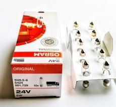 Автолампа 24V C5W SV8,5-8 41mm OSRAM 6424