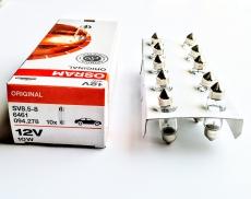 Автолампа 12V C10W SV8,5-8 5 36mm OSRAM 6461