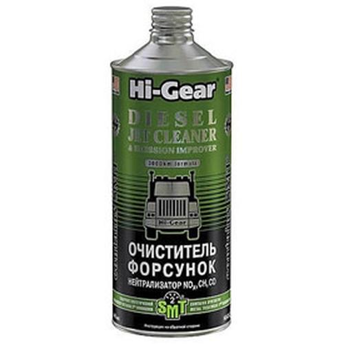 4242 HG Очиститель форсунок. Нейтрализатор NO, CH, CO (содержит SMT2) DIESEL JET CLEANER