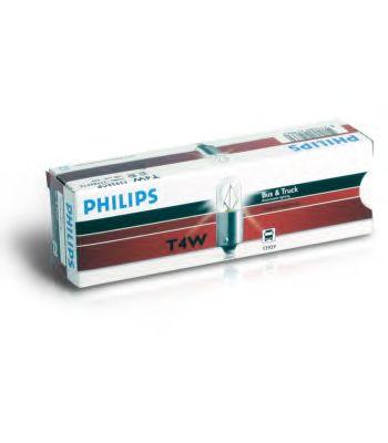 Автолампа 24V T4W BA9s Philips 13929