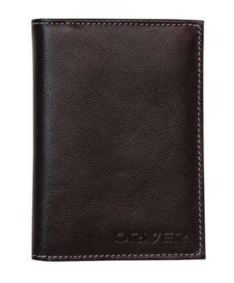 Автообложка с паспортом (кожа) АОП1Б