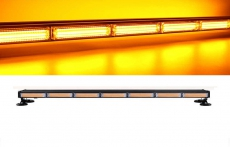 Светодиодная балка стробоскоп (желтая) на магнитах 2х сторонняя 12-24V 7HP 104 см