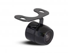 Камера заднего вида универсальная с 2-мя типами крепежа в комплекте, кронштейн/врезная матрица CMOS, угол обзора 170, питание 12В, парк линии, d=145мм