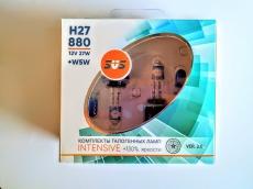 Галогенные лампы SVS серия Intensive+130% H27/880 27W 2шт