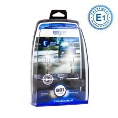 MTF Автолампа H27(881) 12V 27w Dynamic Blue