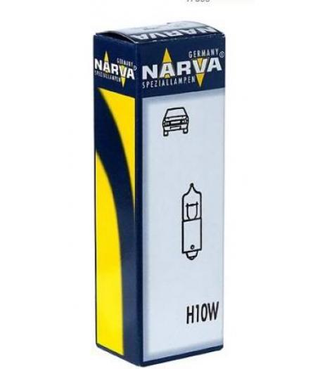 Автолампа 12V H10W BA9s NARVA 17833