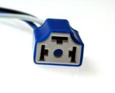 904343 Патрон под лампу H4 с проводами, прямой, керамика TM Nord YADA