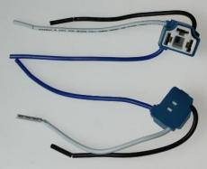 904347 Патрон под лампу H4 (с проводами) Г-обр. керамика TM Nord YADA