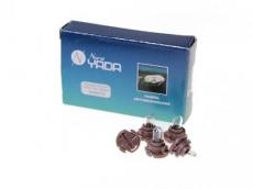 904678 Т5 12V 1,2W автолампа б/ц с усами (коричневый) Nord Yada панель приборов