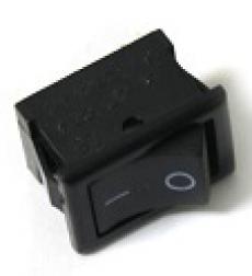905467 Клавиша 250V 3А Micro черная (3конт.) ON-ON