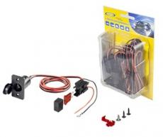 906051 Комплект для подключения доп. прикуривателя (до 5А, провод 1,5м, блистер) КДП-1,5