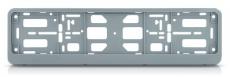 907034 Рамка номерного знака-книжка серебристый металлик,без печати в упаковке TM Nord YADA