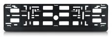 907035 Рамка номерного знака-панель черная, без печати в упаковке TM Nord YADA