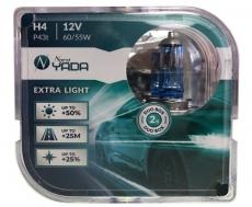 907364 H4 12V 60/55W автолампа EXTRA LIGHT +50 % Plastic case - 2 шт Nord YADA