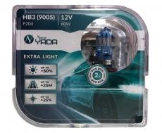 907368 HB3(9005) 12V 60W автолампа EXTRA LIGHT +50 % Plastic case - 2шт Nord YADA