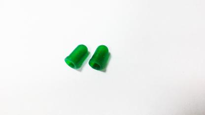 Резиновый колпачек под лампу D3 (зеленый)