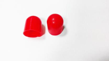 Резиновый колпачек под лампу D5 (красный)