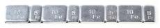 A0097  Балансировочные грузики самоклеющиеся для шиномонтажа, 4x10г + 4x5г
