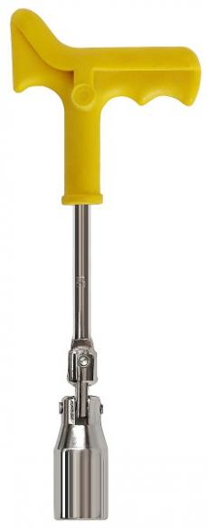 A1011  Ключ свечной шарнирный с резиновым уплотнителем, 21 мм