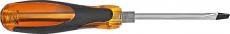 A4005  Отвертка ударная, прозрачная, шлицевая, 20 см