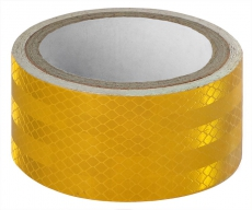A7025 Светоотражающий скотч ширина 5см, длина 50м, желтый