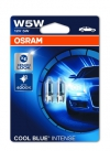 Автолампа W5W 12V W2,1X9,5D Cool Blue Intense (4200К) OSRAM (блистер 2шт) 2825CB-02B