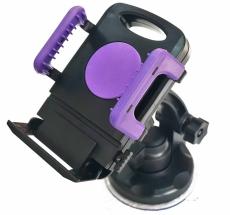 D4145 Держатель для телефона, черно-фиолетовый