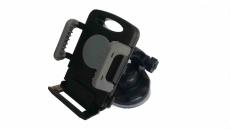 D4147 Держатель для телефона, черно-серый
