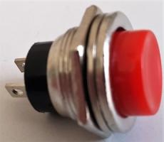 G9006 Выключатель-кнопка без подсветки 12/24 Вольт