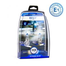 MTF Автолампа H3 12V 55w Dynamic Blue