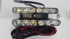 Дневные ходовые огни 6 LED DRL 2*6 smd 5730