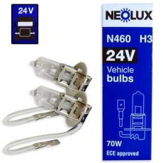 N460 Автолампа 24v H3 70W PK22s NEOLUX