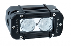 Фара светодиодная NANOLED 20w 2LED CREE X-ML широкий луч 116*64,5*92мм ближ.