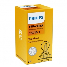 Автолампа 13.5V PCY16W PU20d2 16w HiperClick Philips 12271AC1