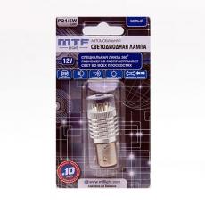 P21/5W360W Лампа светодиодная 12V 21/5W Линза 360 Белый (1шт) MTF